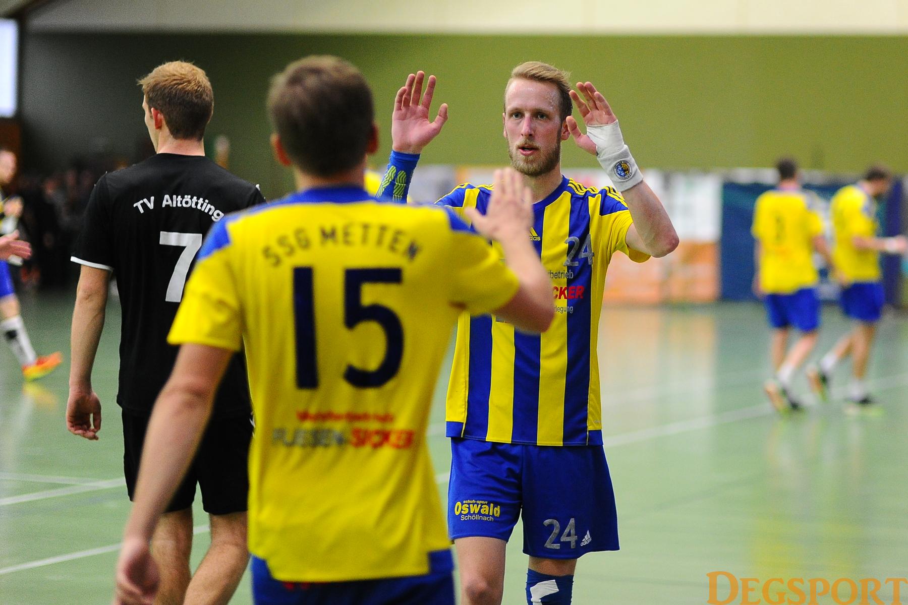 Am Mettener Handball-Himmel schimmert Hoffnung