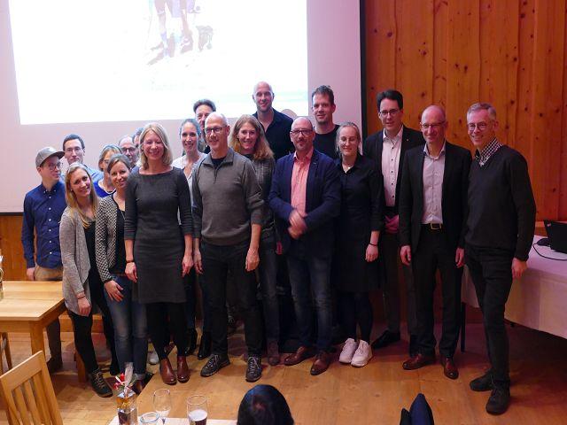 Die neue Vorstandschaft des LV Deggendorf mit Oberbürgermeister Dr. Christian Moser