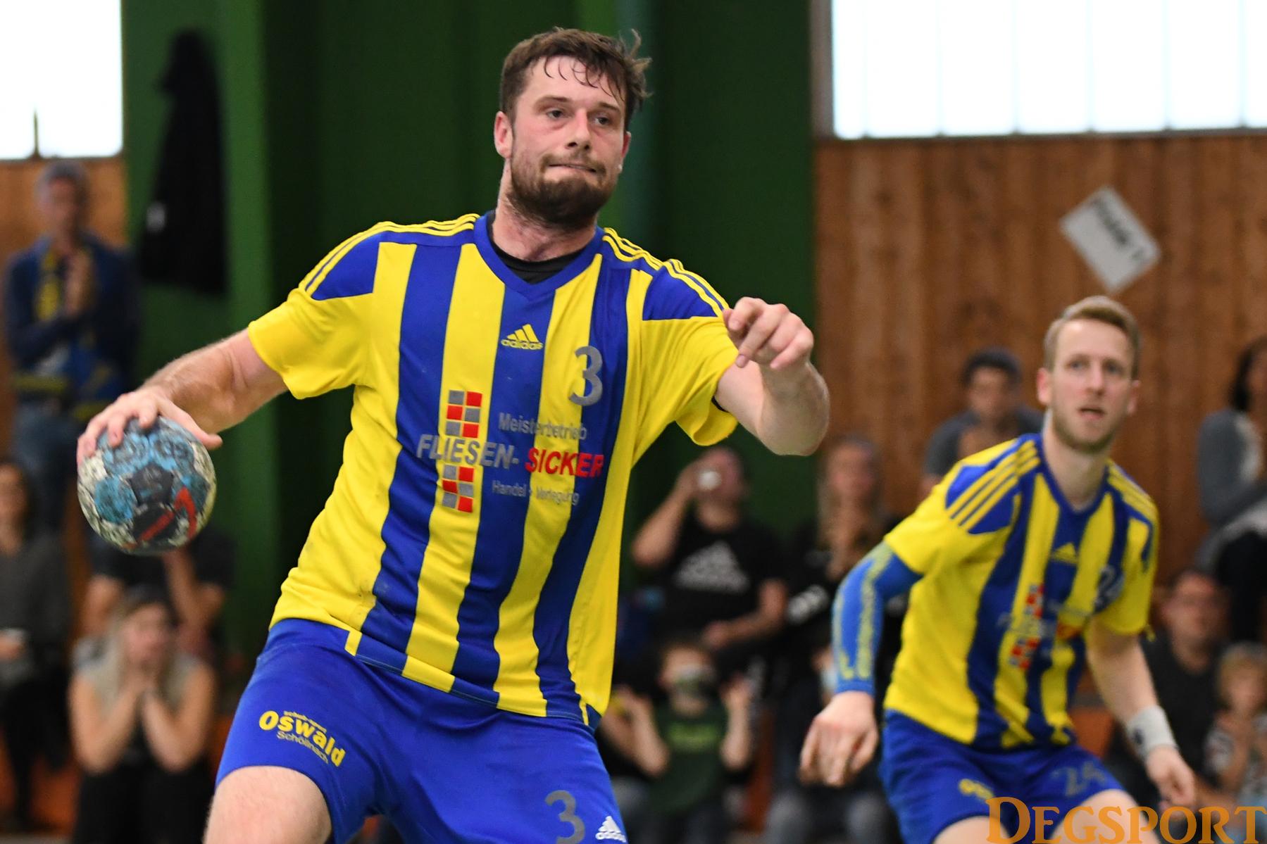 SSG-Handballer hoffen gegen die HG Ingolstadt