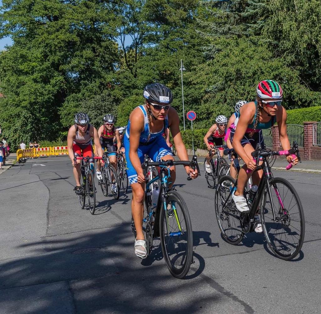 Für Amelie Hanf geht ein Triathlon Traum in Erfüllung