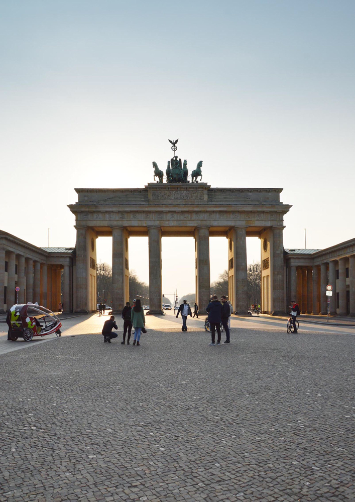 Foto und Bildbearbeitung, Brandenburger Tor