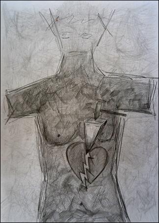 Das Herz DIN-A3