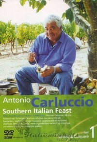DVD Antonio Carluccio bij het Italiewarenhuis