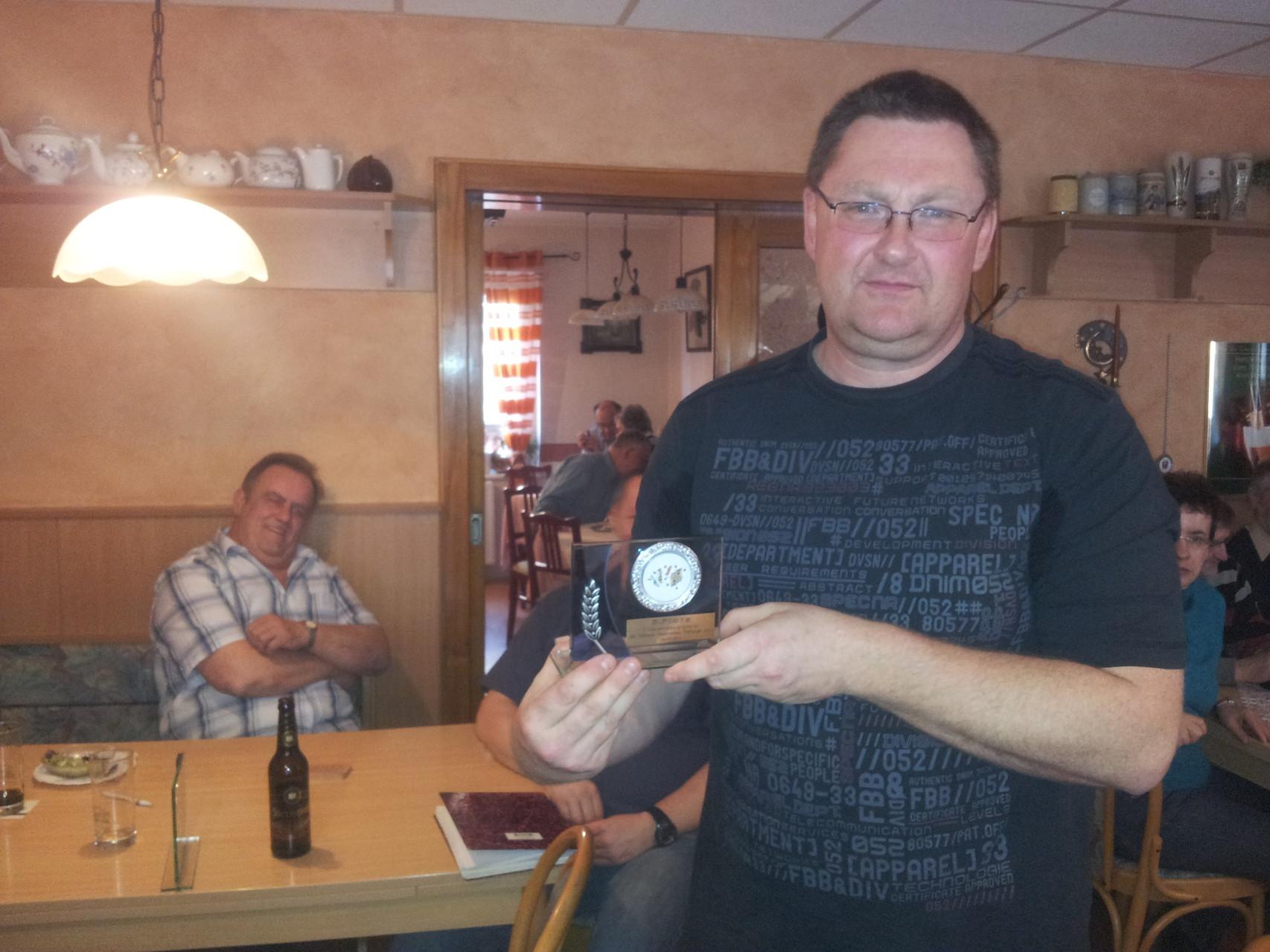 3. Platz - Ronald Arlt - 2230 Punkte