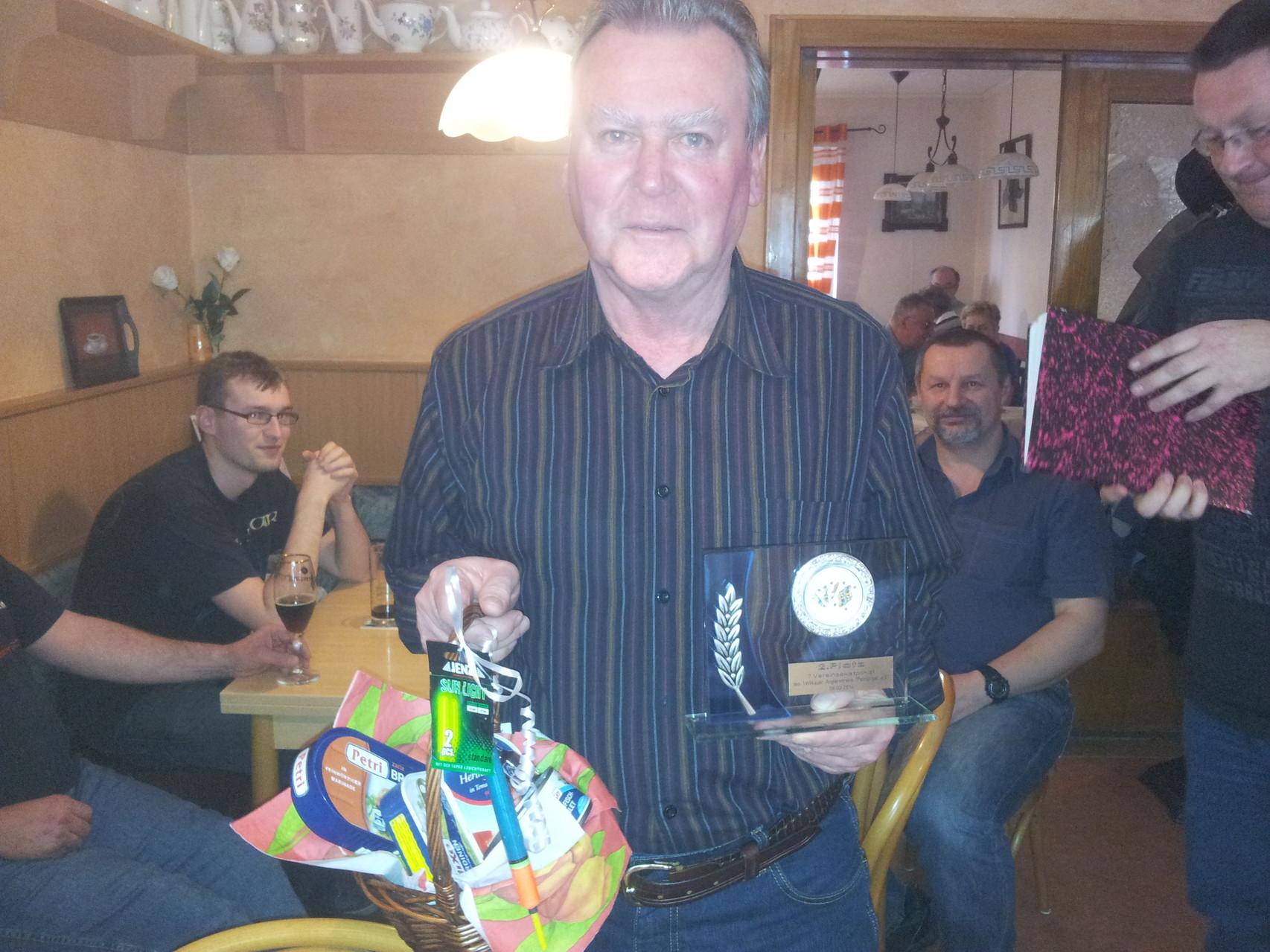2. Platz - Ralf Koch - 2457 Punkte