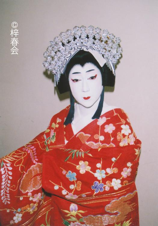 2013年1月大阪松竹座「春調娘七種」(静御前)