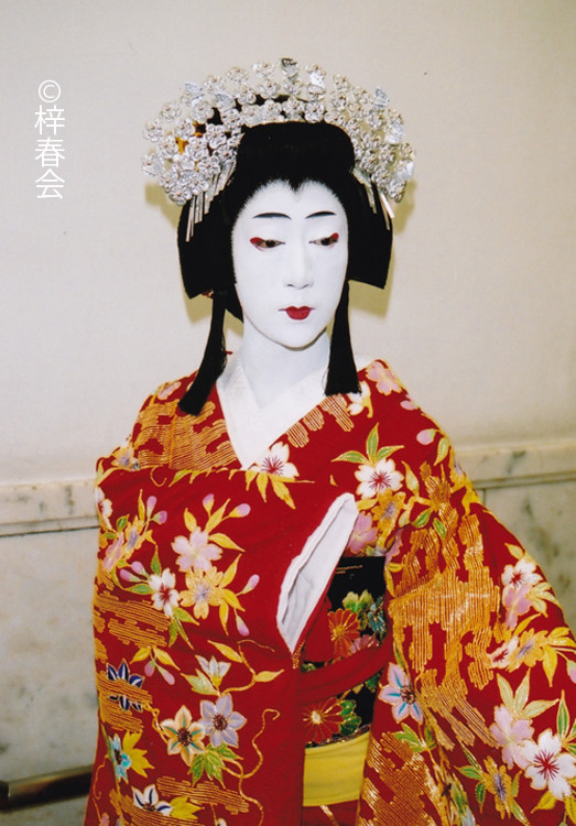 2007年10月三越劇場「傾城反魂香 」(銀杏の前)