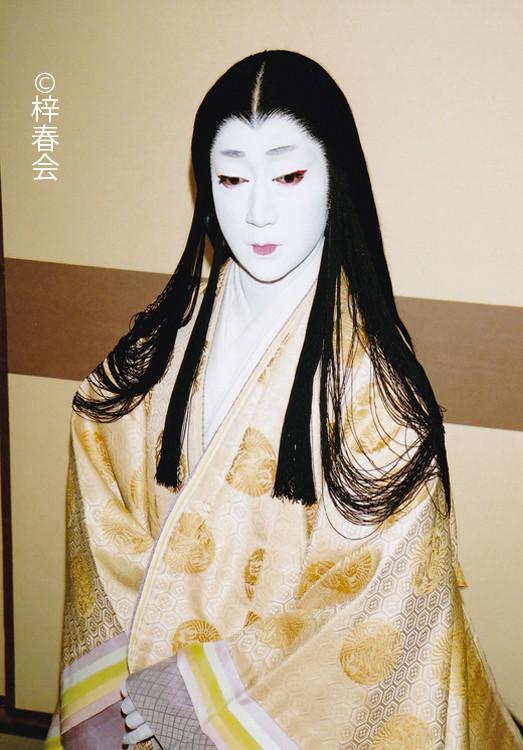 2007年3月国立劇場 「蓮絲恋慕曼荼羅」(紫の前)