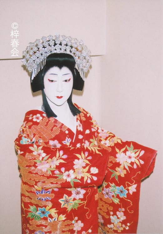 2011年12月日生劇場「碁盤忠信」(静御前)