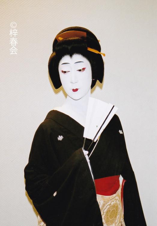 2007年7月全国巡業 「お祭り」(芸者 春乃)