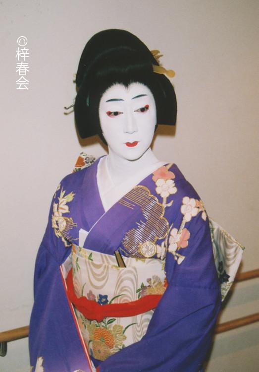 2009年11月全国巡業「傾城反魂香」(銀杏の前)