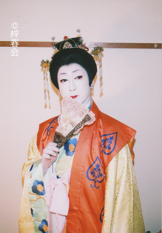 2011年7月新橋演舞場「楊貴妃」(虢国夫人)