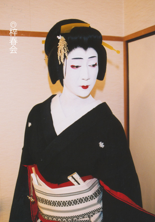 2009年1月新橋演舞場「お祭り」(芸者 おしげ)