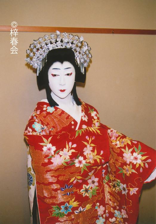 2010年7月大阪松竹座「妹背山婦女庭訓」(入鹿妹 橘姫)