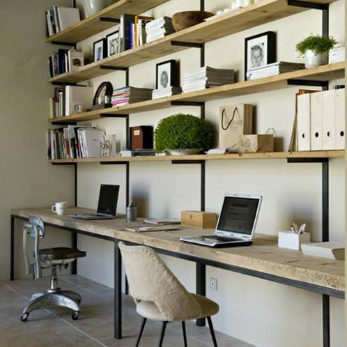 Meublr bureau et bibliothèque sur mesure