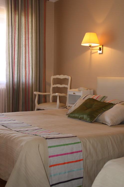 décoration d'une chambre d'hôtel