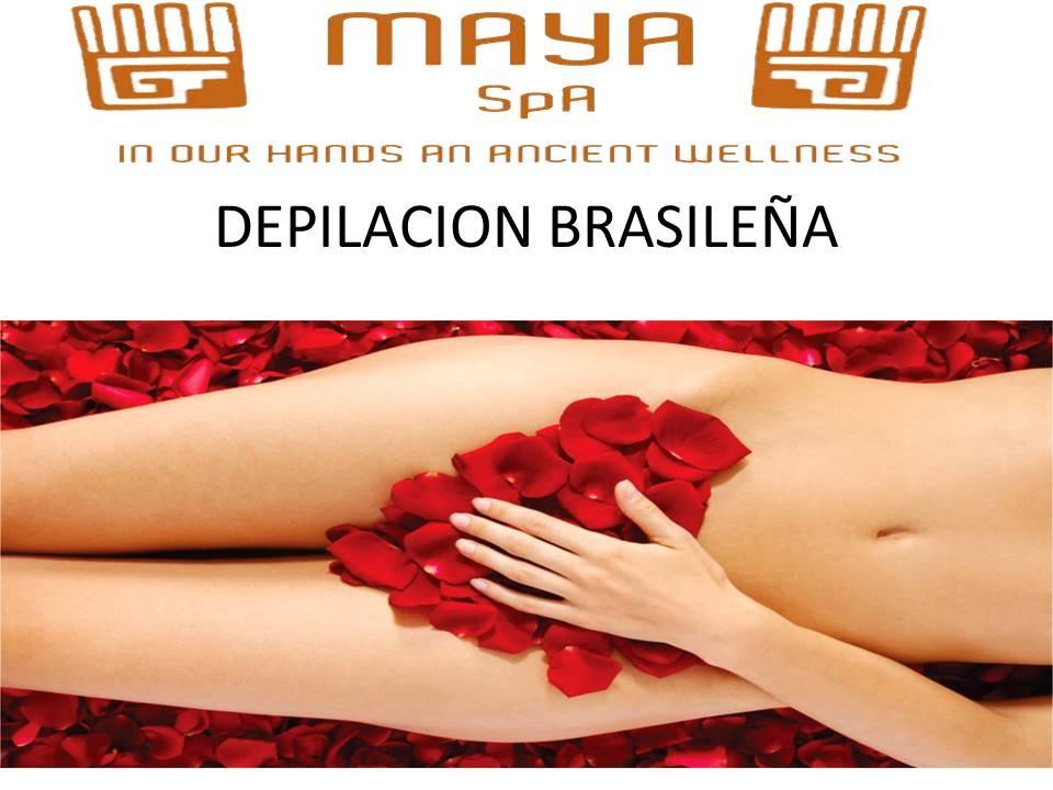 depilaciones brasileñas ,maya spa merida