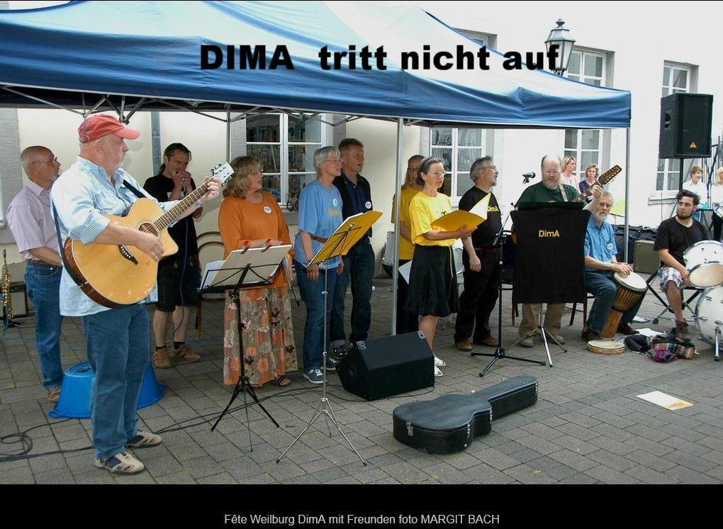 DimA - Die musikalische Alternative 2012 Fête Innenhof