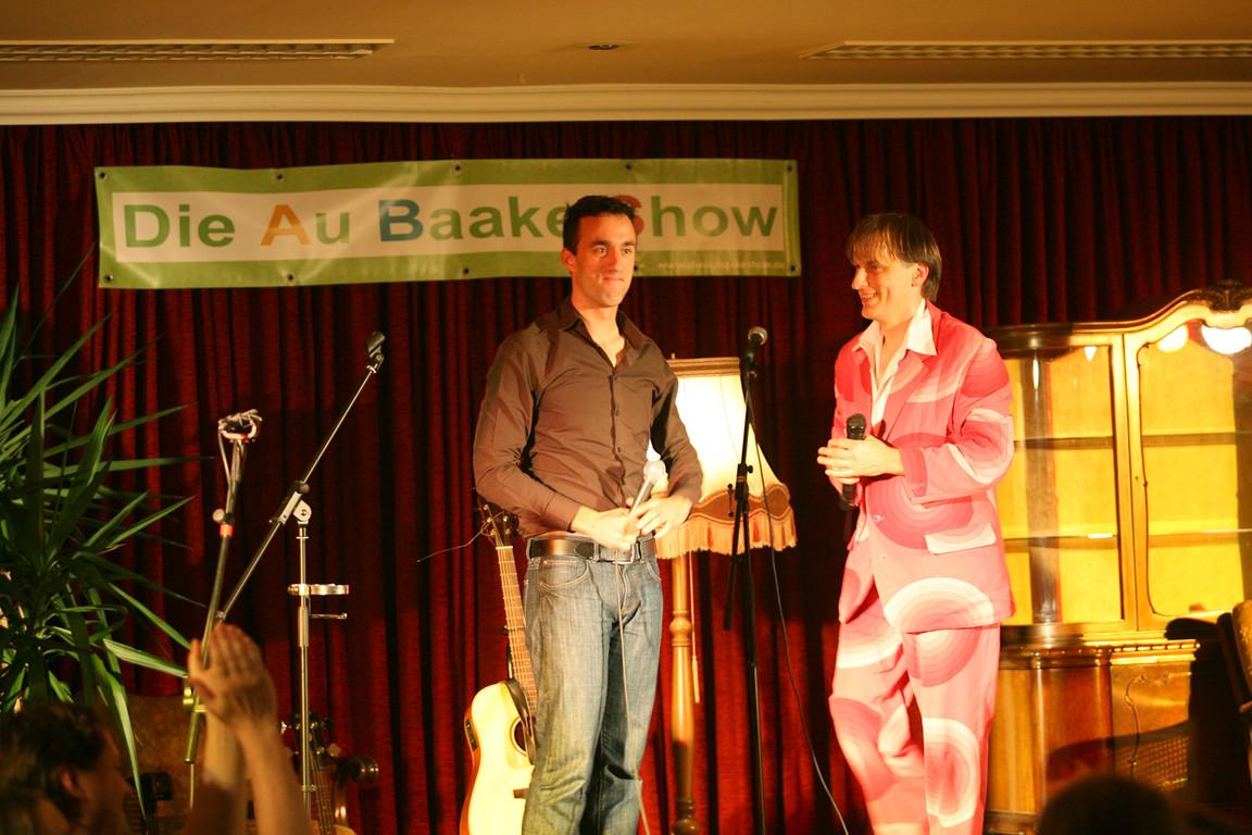 Matthias Jung und Thommi Baake
