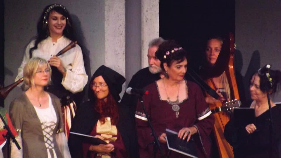 Violetta & Lilia caeli an der Waldbühne, Hamm-Heessen, Juli 2019 | Fitti