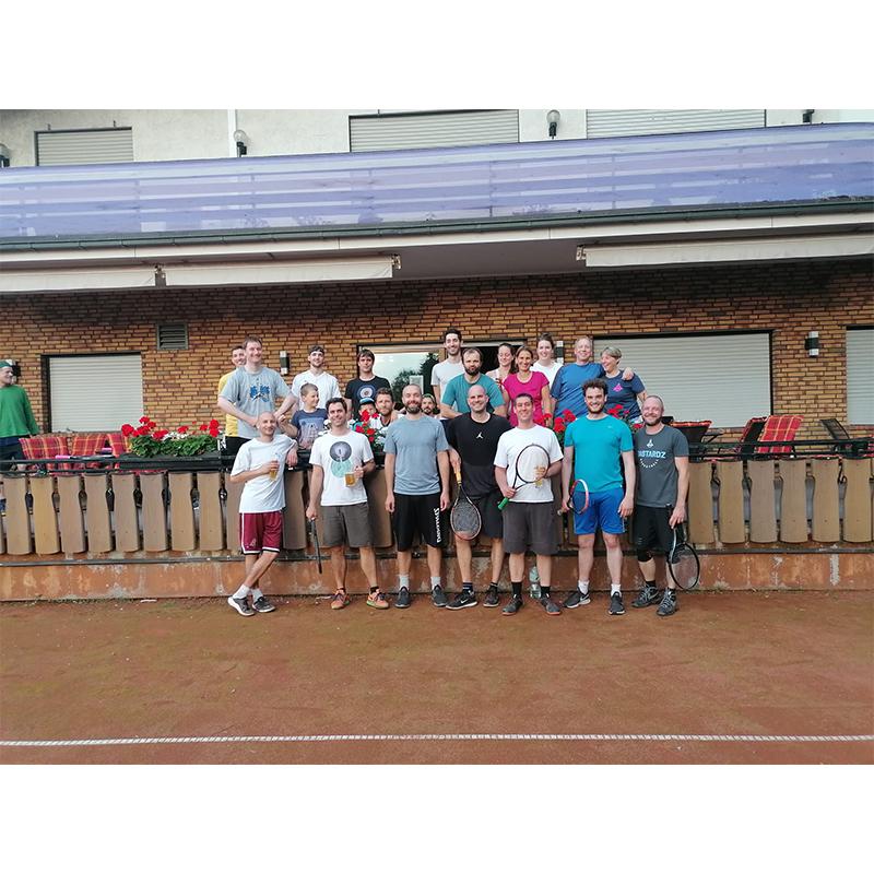 Tennisturnier der Senioren