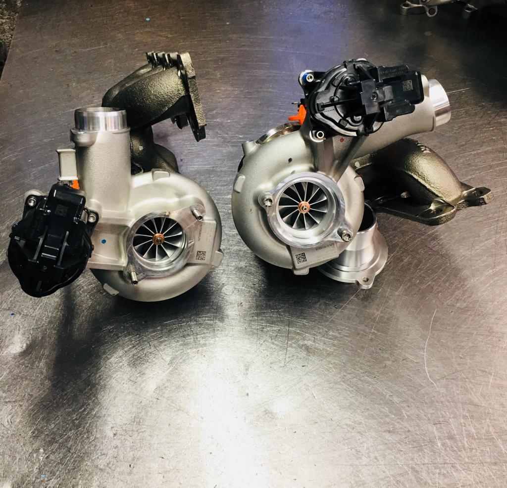 BMW S55 HM700 Upgrade Turbolader