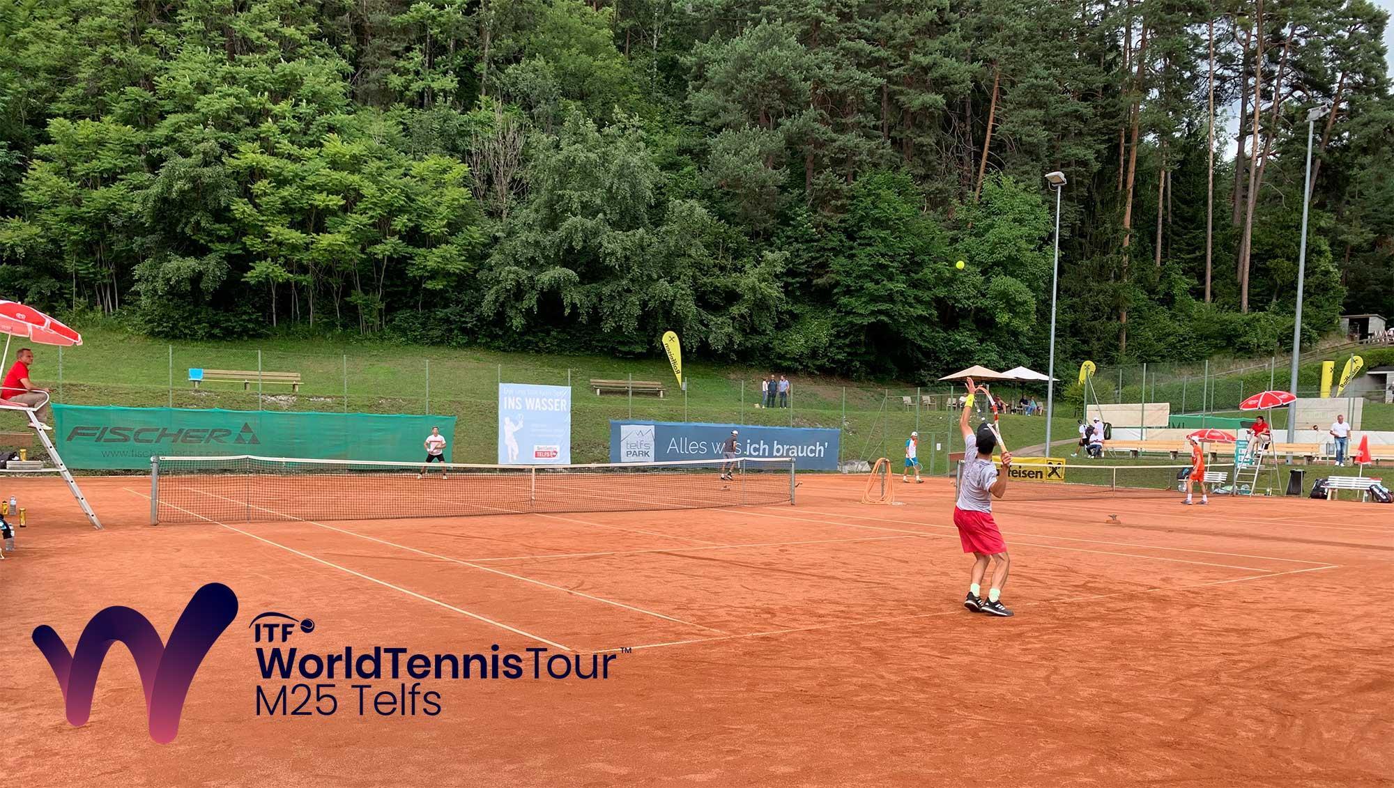Die ITF World Tennis Tour in Telfs geht am Wochenende in die finale Phase