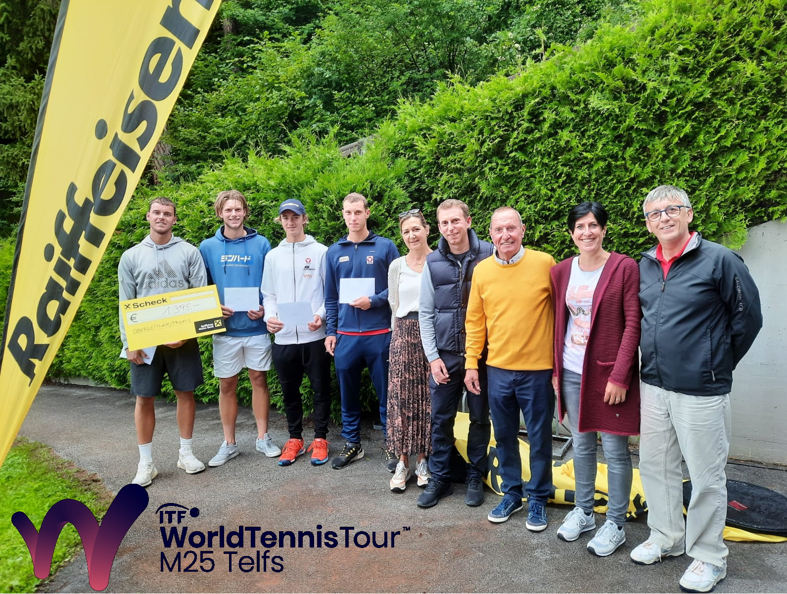 Die ITF World Tennis Tour in Telfs geht am Sonntag und Montag in die finale Phase!