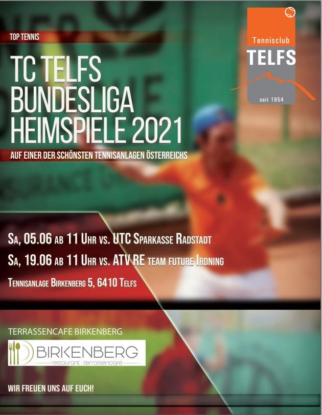 Bundesliga Tennis in Telfs