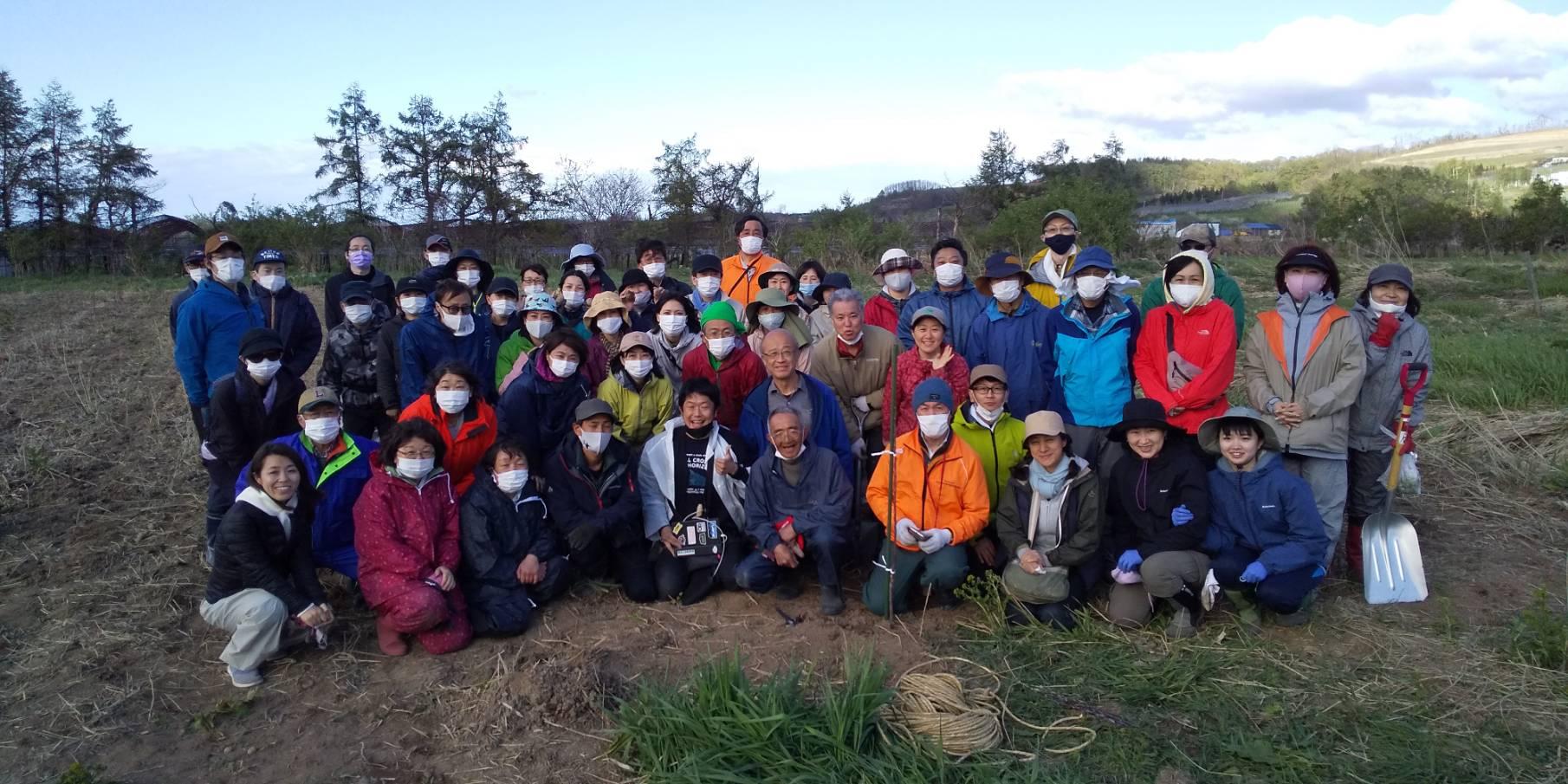 2021年木村秋則自然栽培農学校の入校式