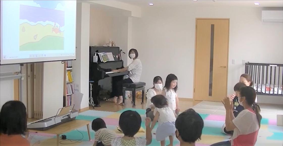 当教室の特徴② お子さんのレッスンの様子が分かる動画の配信