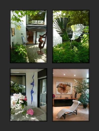 Kunst im Raum und im Garten