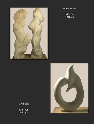 Skulpturen aus Marmor