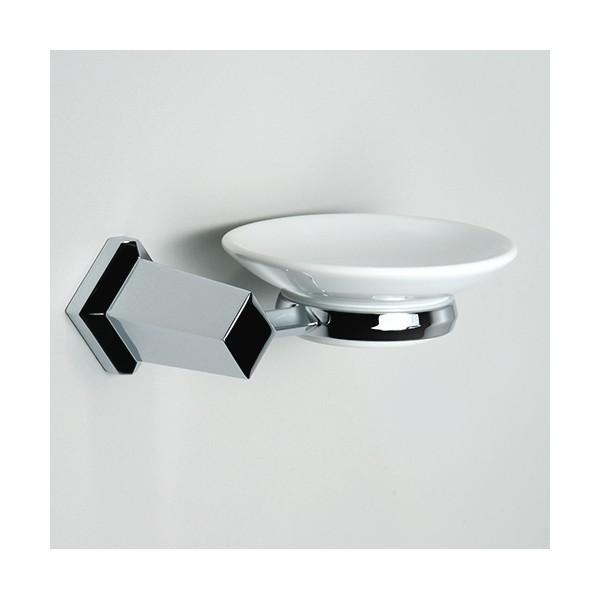 seifenschale mit wandhalter bad accessoires g nstig bestellen. Black Bedroom Furniture Sets. Home Design Ideas