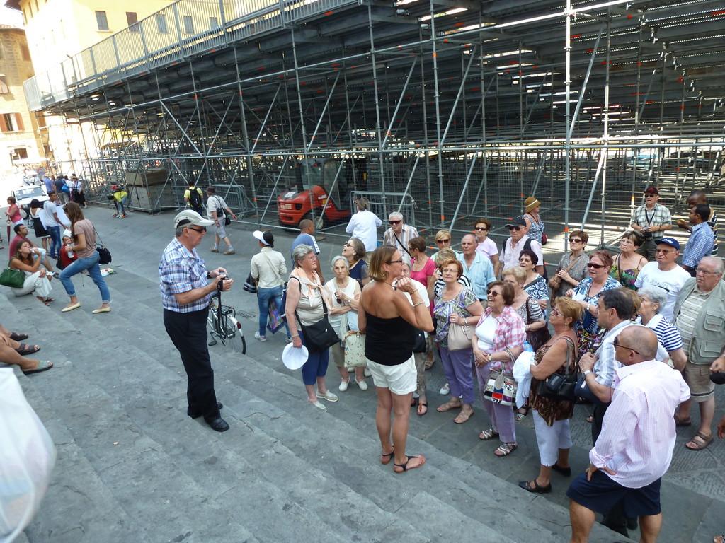 Devant l'église Santa Maria Novella