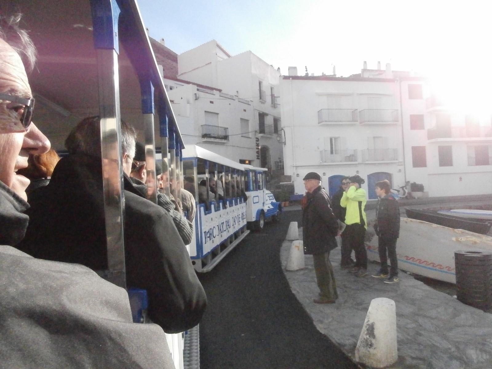 VISITE DE CADAQUES EN PETIT TRAIN
