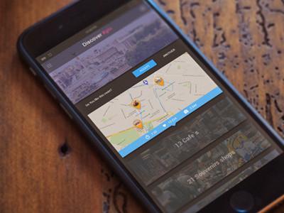 Ivan Bunin design - web UI/UX design