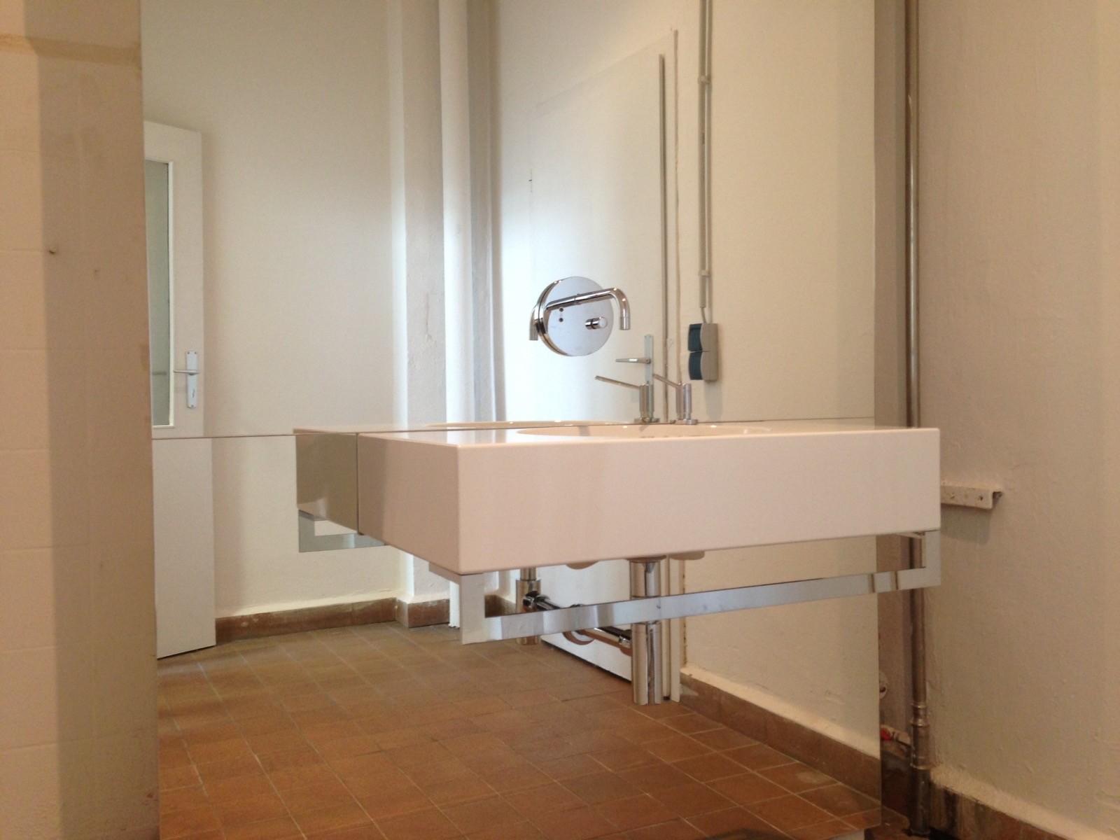 Waschtischlösung im Kombinat in Erfurt