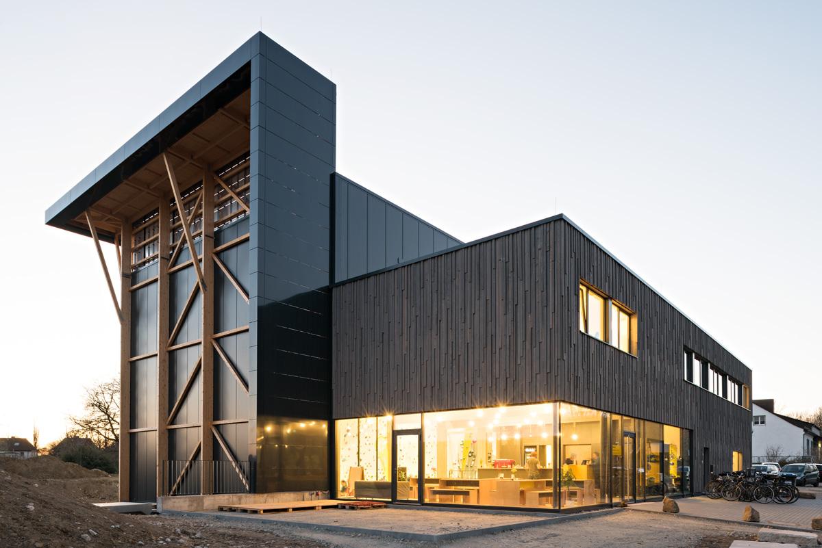 EnergieWände Kletterhalle Weimar