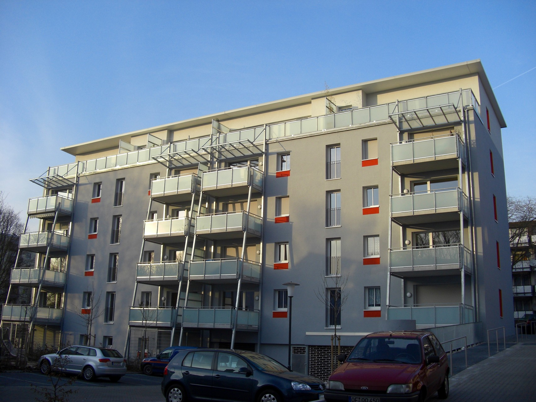 20 WE Passivhaus in Frankfurt