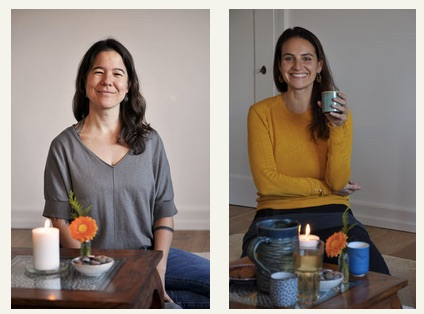 mit Bettina Baumgartner Yogalehrerin & Linda Burch Rituelle Singgruppenleiterin