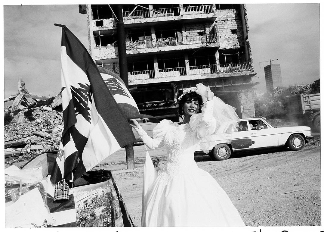 &#169Christine Spengler - Liban, 1996.