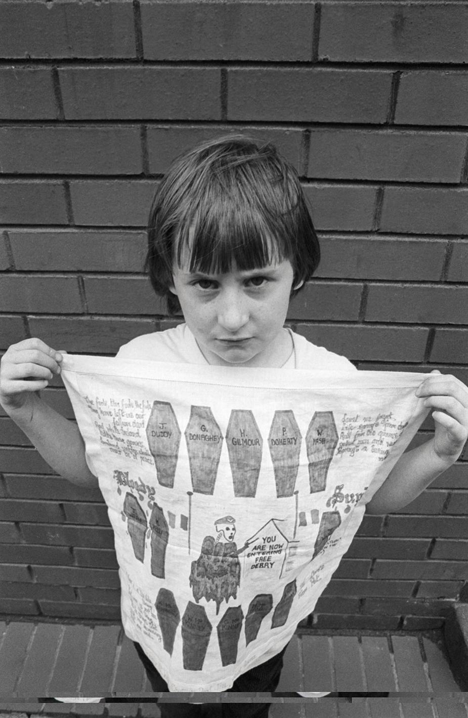 &#169Christine Spengler - Irlande du Nord. Belfast, 1988.
