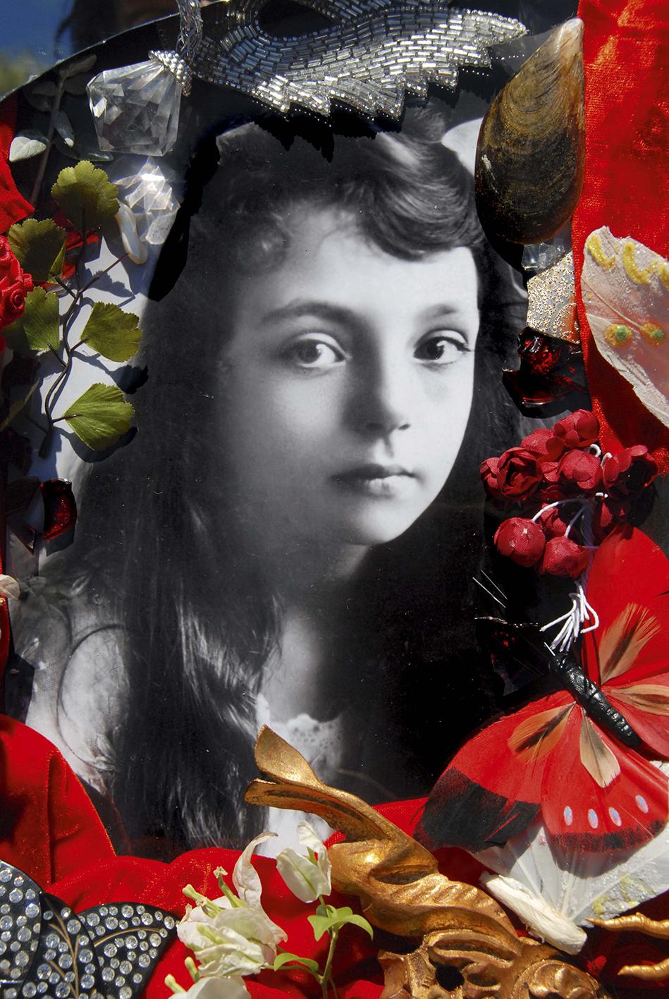 Christine Spengler. Portraits. Marguerite Duras, enfant