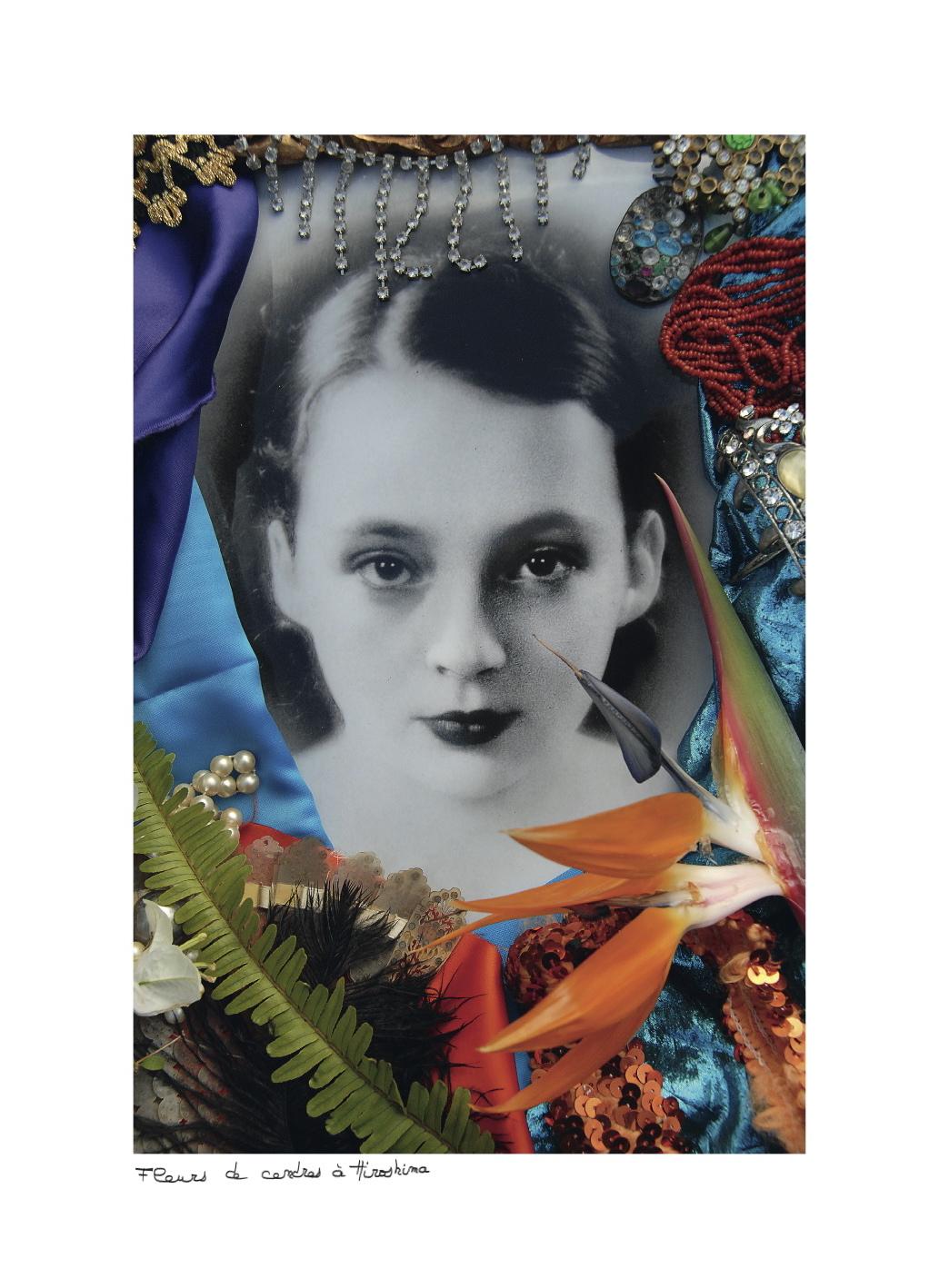 Christine Spengler - Hommage à Marguerite Duras - Fleurs de cendres à Hiroshima