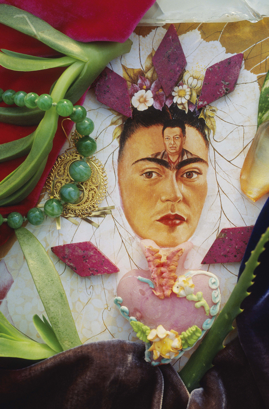 Christine Spengler. Portraits. Frida Kahlo