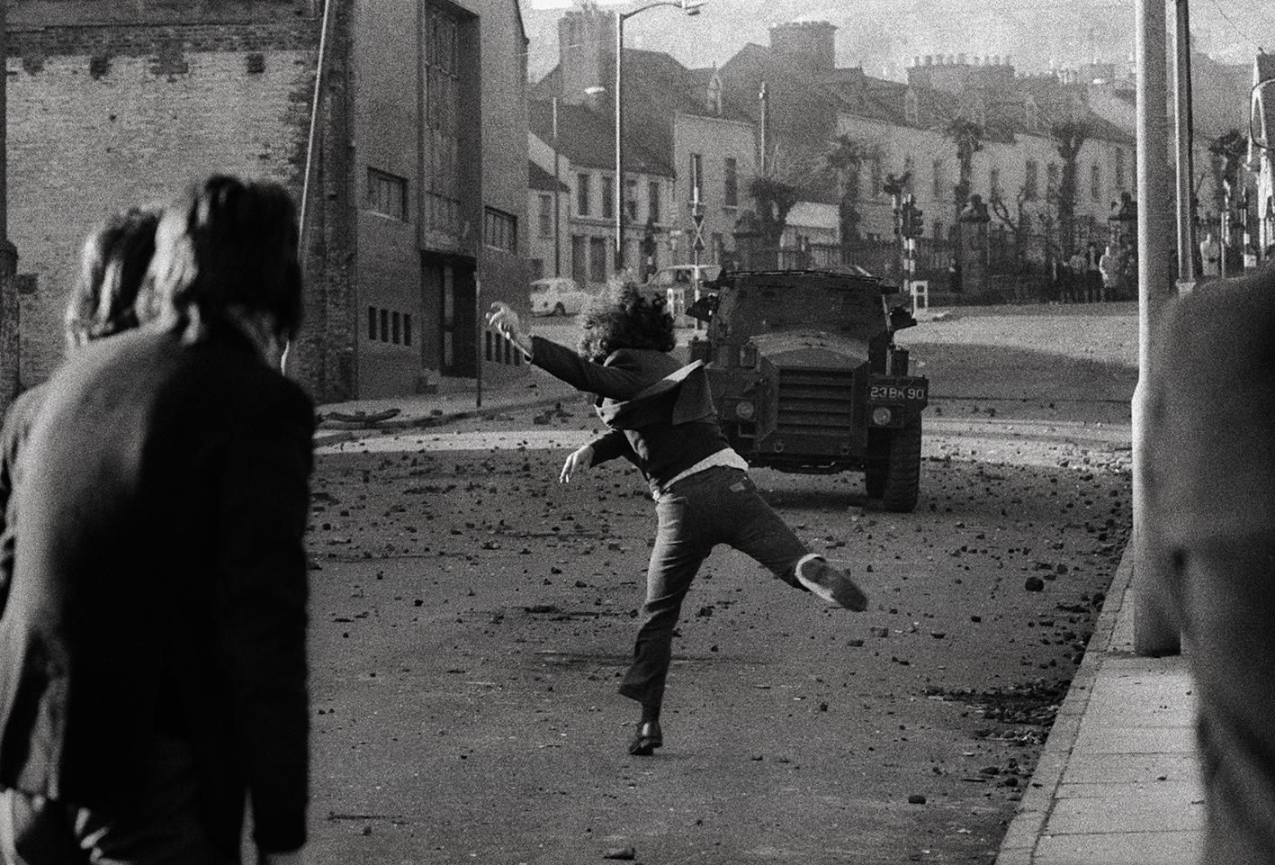 &#169Christine Spengler - Irlande du Nord. Londonderry, 1972.