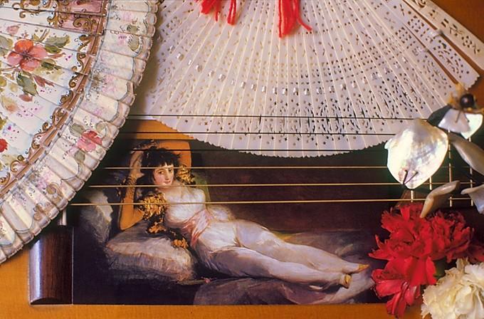 Christine Spengler. Portraits. Maja de Goya