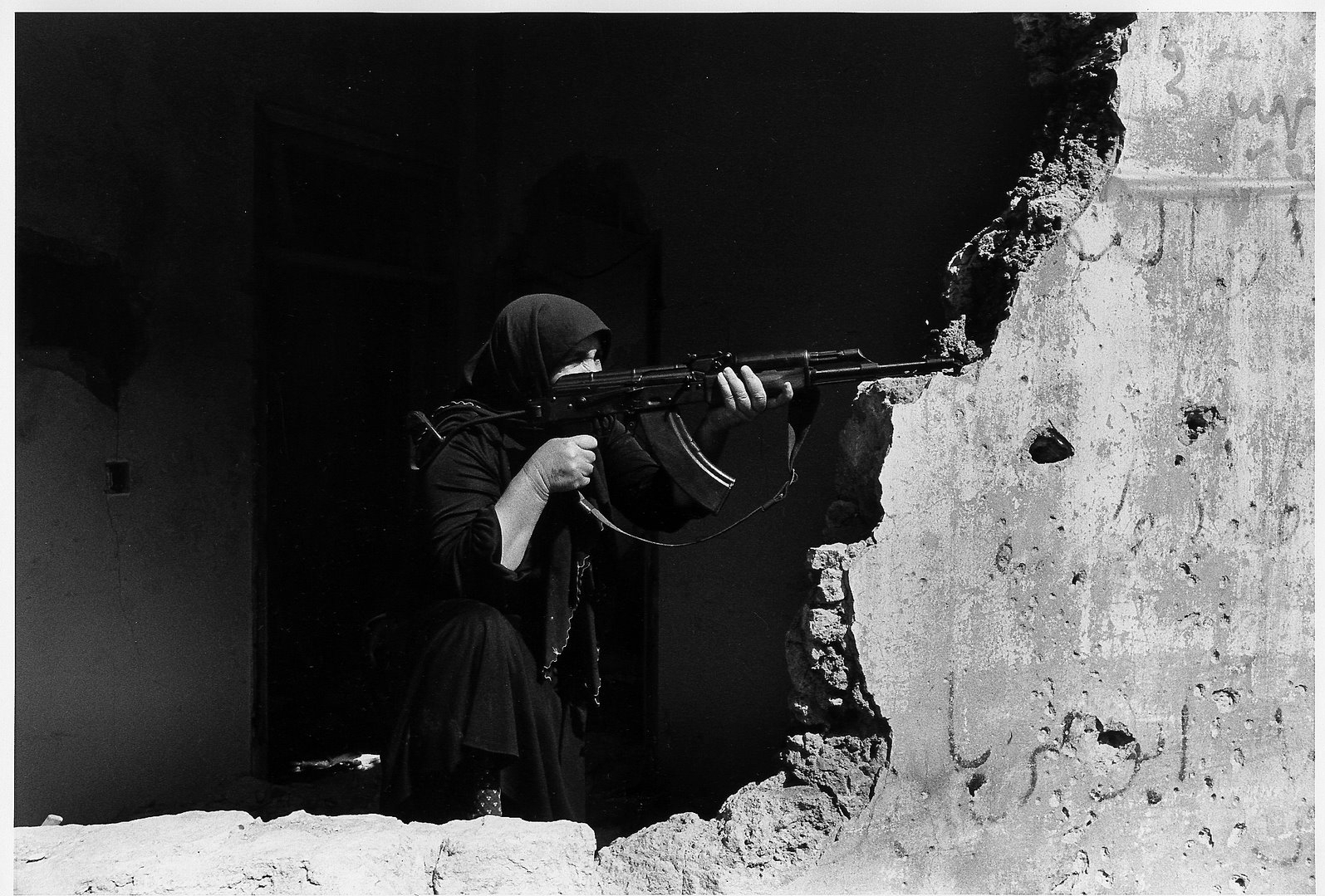 ©Christine Spengler - Liban. Beyrouth-Ouest. 1982