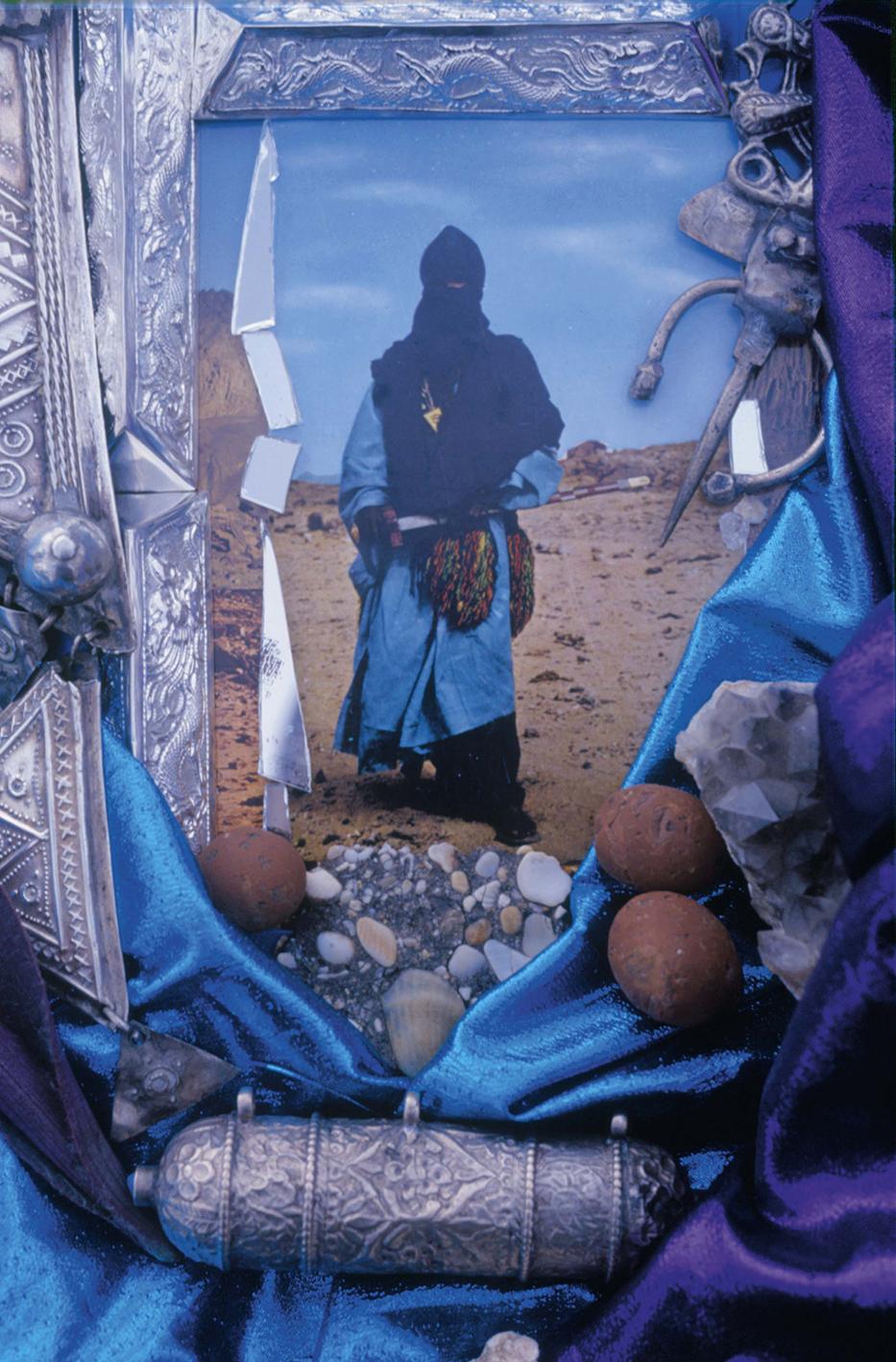 Christine Spengler. Algérie - Maroc. Mokhtar, L'homme bleu du désert